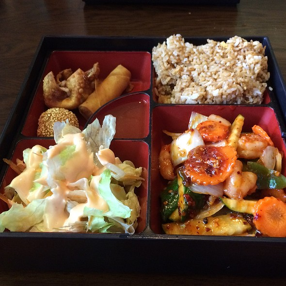 Spicy Shrimp Lunch Box