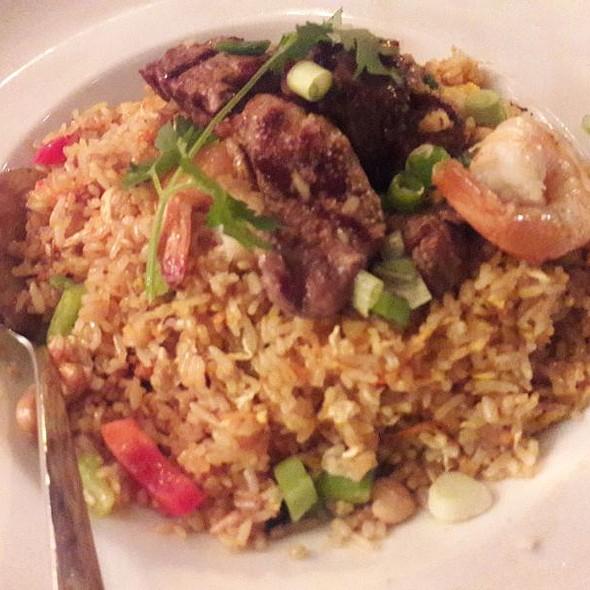 Surf And Turf Fried Rice @ Baramee Thai Restaurant
