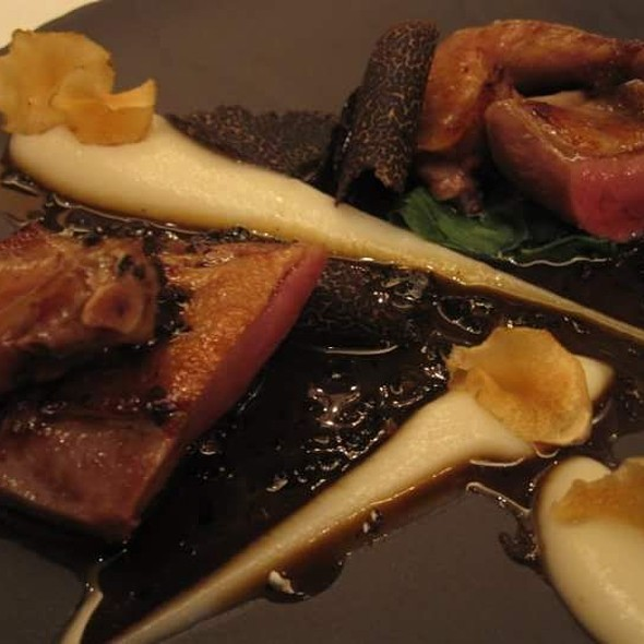 Char-grilled Anjou Pigeon