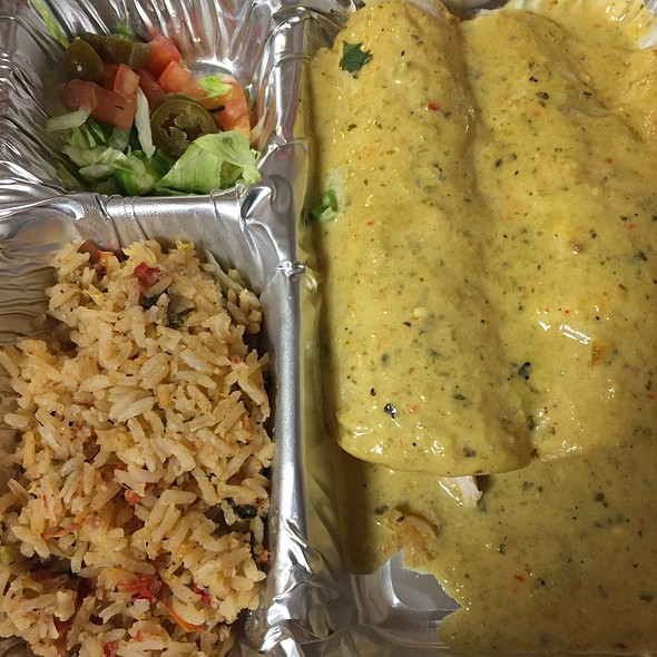 Chicka-Chicka Boom-Boom Enchiladas @ Chuy's