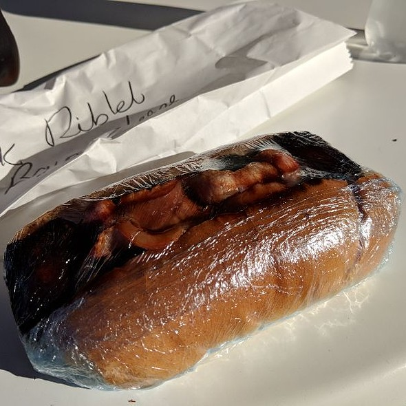 BBQ Pork Riblet Sandwich