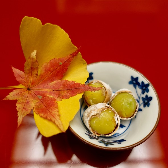 Roasted Ginkgo Nuts with Salt