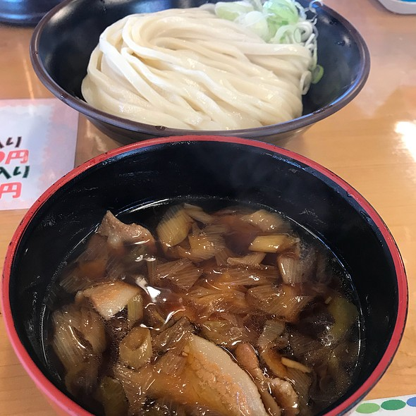 Udon With Pork Soup