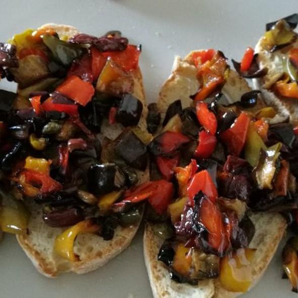 Bruschette Vegetariane @ Casa Martino
