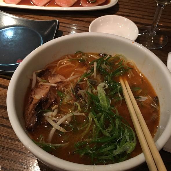 Spicy Negi Ramen @ Kagura Downtown Tokyo Cuisine & Sake Bar