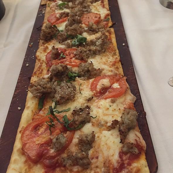 Italian Sausage Flatbread