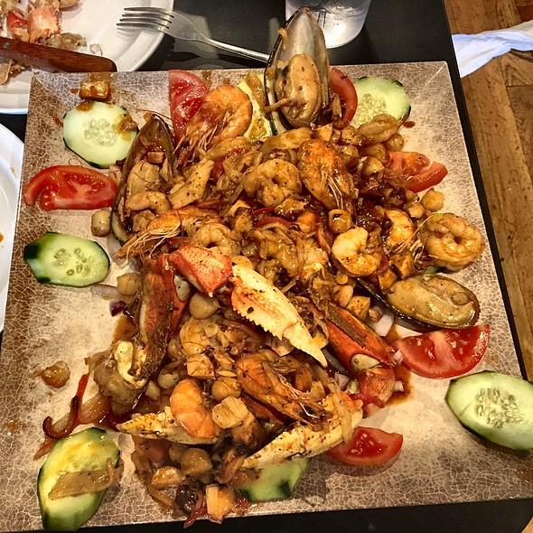 Parrilla Levanta Muertos @ Mariscos Seafood [ON CHEROKEE ST]