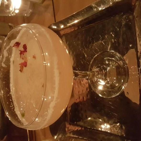 Rose & Lychee Martini