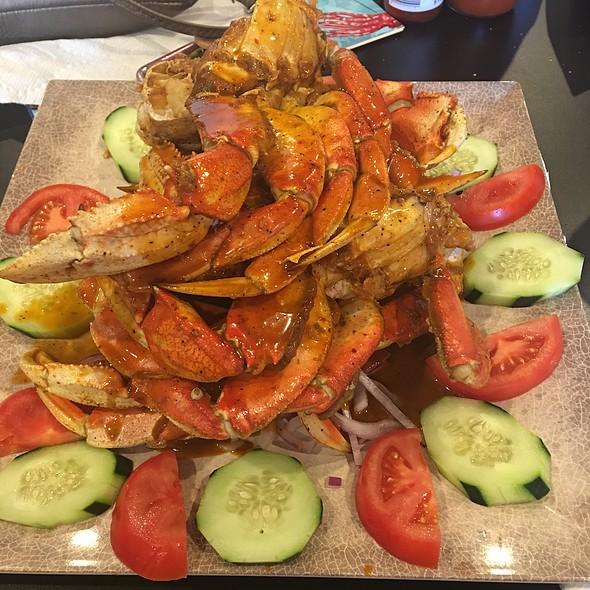 Charola De Patas De Jaiba - Crab Legs
