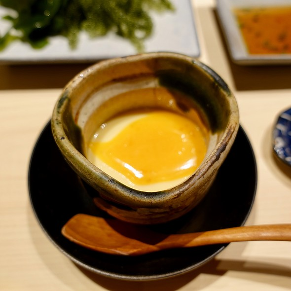 Chawanmushi with Crab Roe