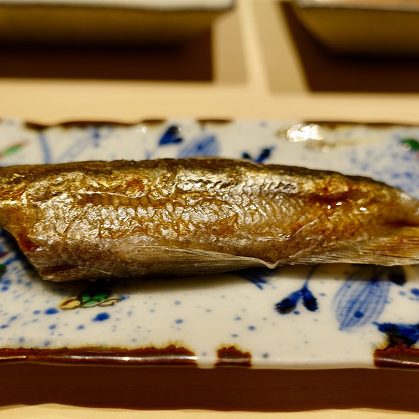 Grilled Japanese Smelt