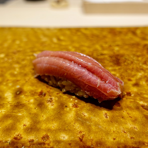Marinated Toro Nigiri