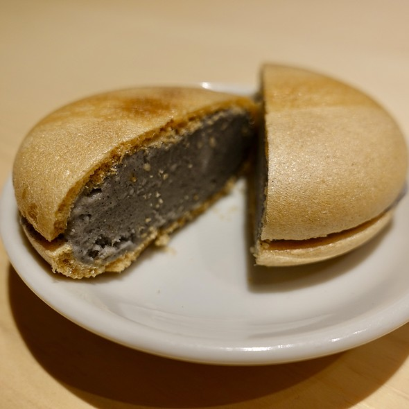 Black Sesame Ice Cream Sandwich