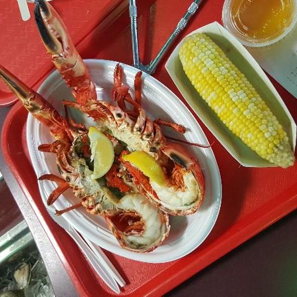 Broiled Lobster @ Jordan's Lobster Dock