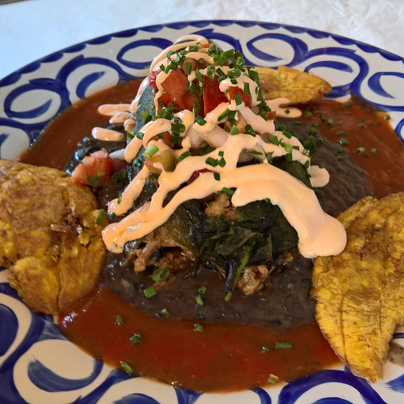 Pulled Pork Chile Rellenos with Salsa & Chipotle Cream