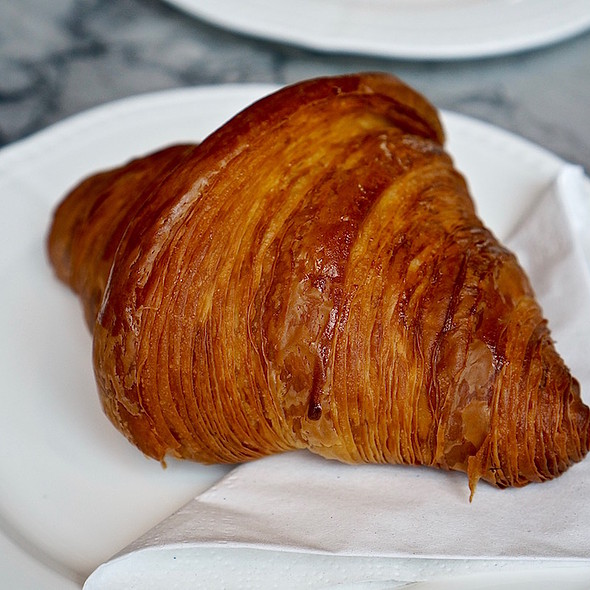 Butter Croissant @  Beaucoup Bakery and Cafe
