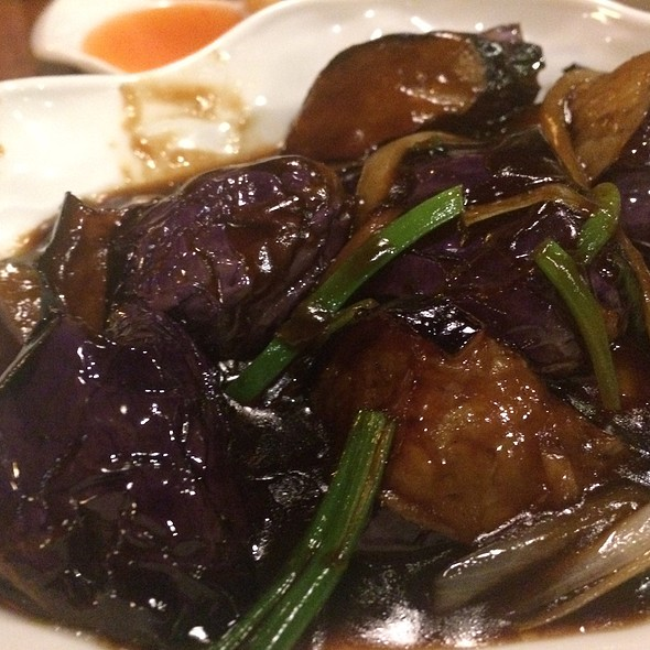 Eggplant And Garlic Sauce