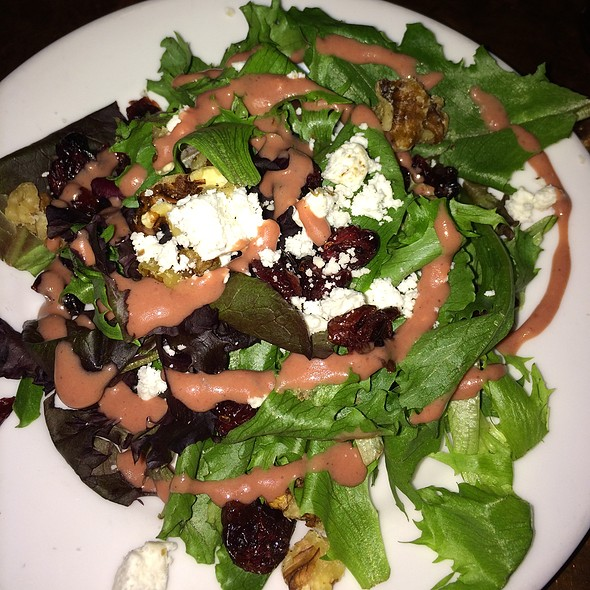 cranberry walnut salad @ Deno's Mountain Bistro