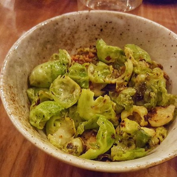 XO Brussels Sprouts