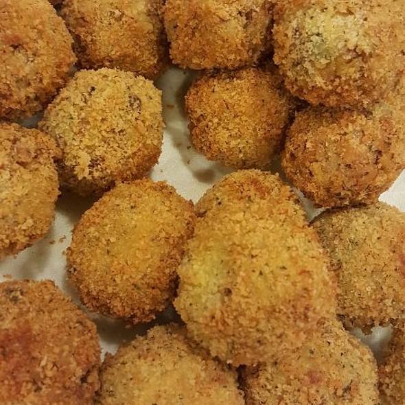 Deep Fried Stuffing Balls @ Home