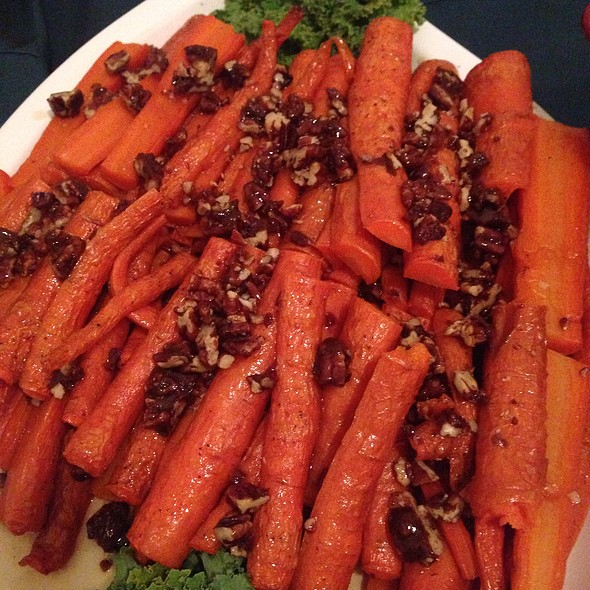 Carrots With Walnuts @ Home