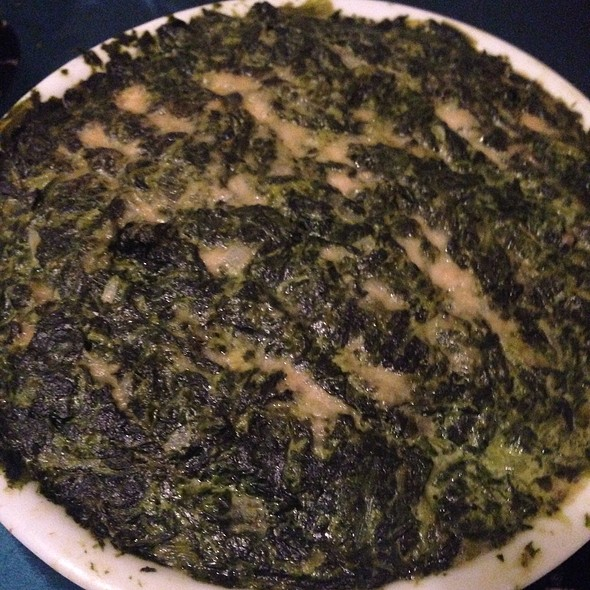 Creamed Spinach @ Home