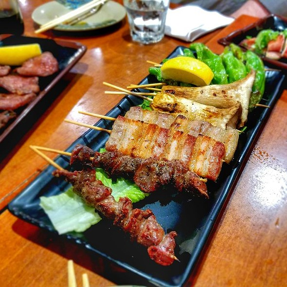 Skewers @ Sake Bar Hagi