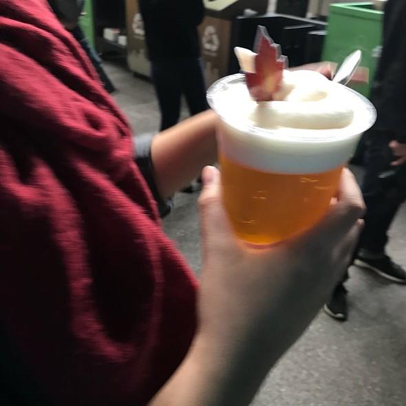 Rose And Elderflower Frozen Beer