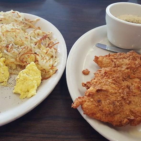 Chicken Fried Steak & Eggs Breakfast @ Avalon Diner