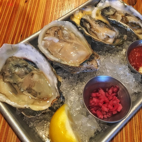 Oysters on the Half Shell @ Chowder Room