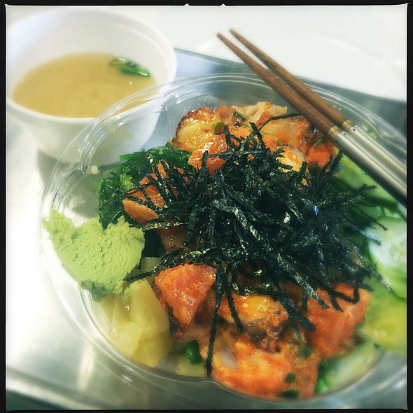 Spicy Tuna & Salmon Poke Bowl @ PokeCity