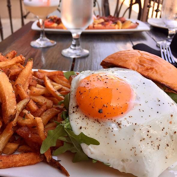 Breakfast Burger @ Haven Gastropub
