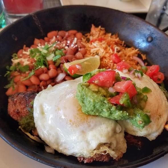 Carne Asada Con Huevos @ Criollo Latin Kitchen