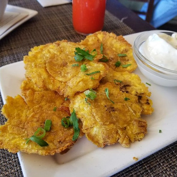 Crispy Plantains @ Criollo Latin Kitchen