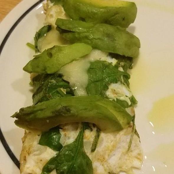 All White Veggie Omelette