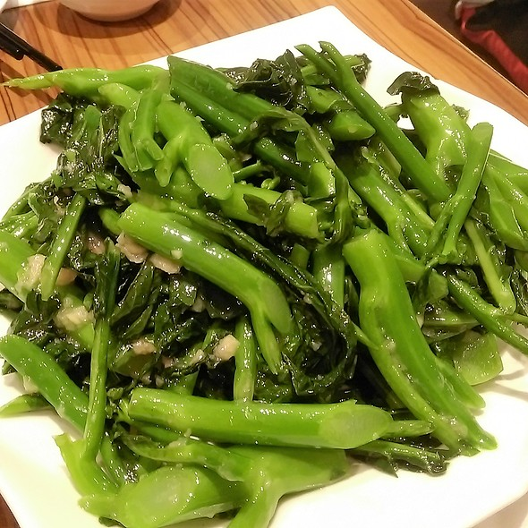 Stir Fried Vegetable With Garlic