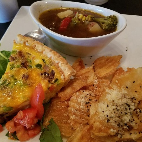 Western Quiche & Vegetable Beef Soup