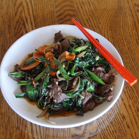 Mongolian steak