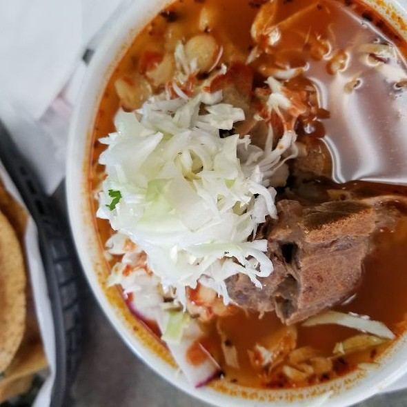 Pozole @ Mr Fish King La Puente