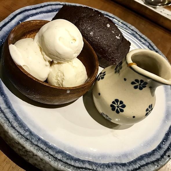 Sticky Toffee Pudding @ Halia Restaurant