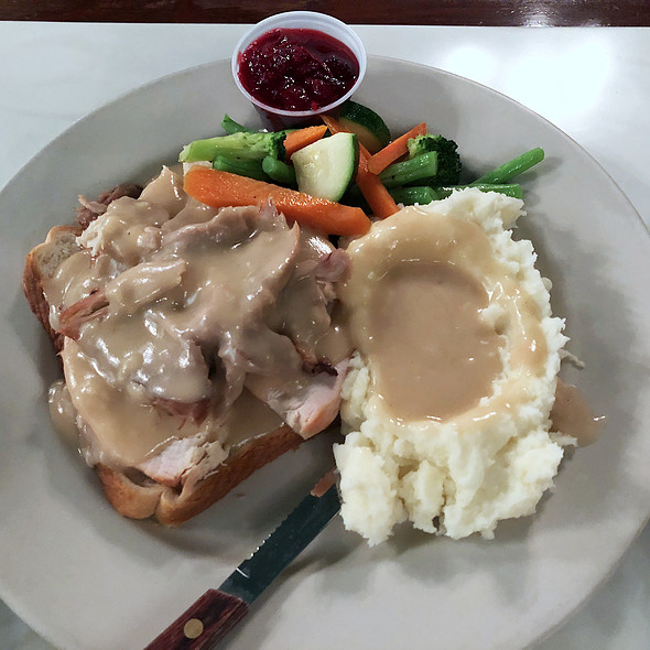 Hot Turkey Sandwich @ Murphy's Bar & Grill