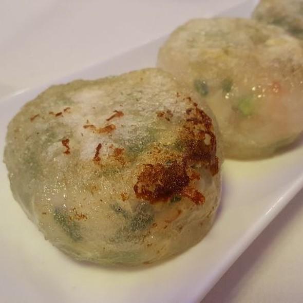 Chive and Shrimp Dumplings