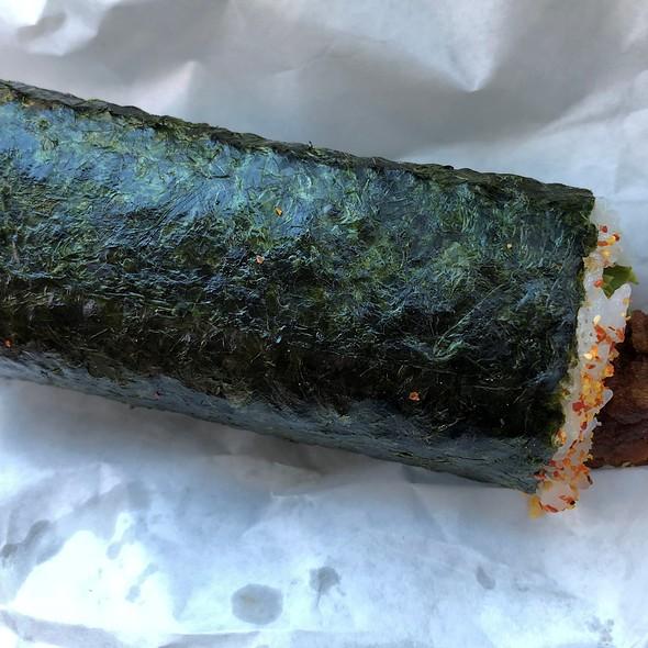 Hand Roll Sushi Chicken Katsu