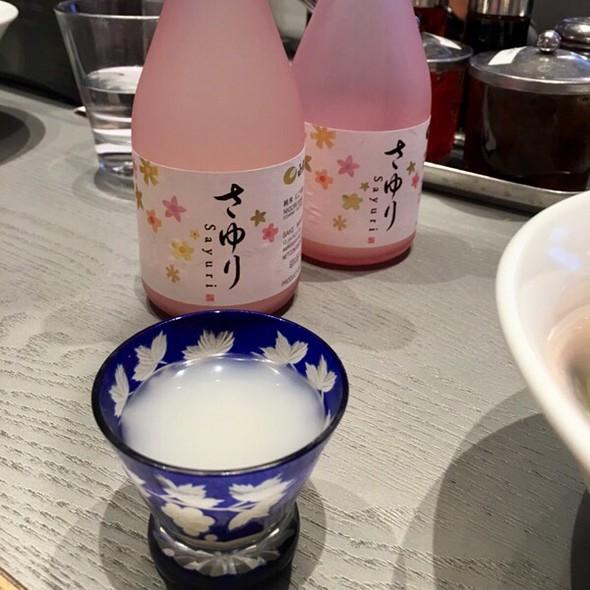 Nigori Sake @ Tsujita Artisan Noodle