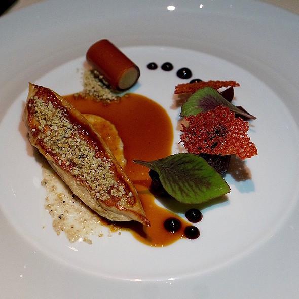 Wild pheasant, beet terrine, buckwheat