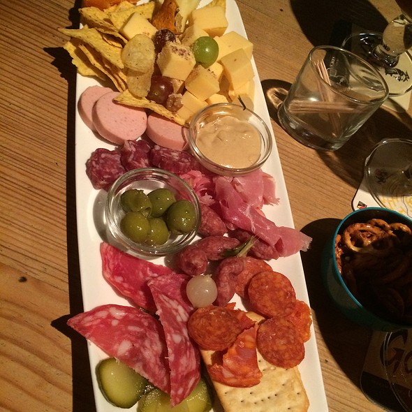 Cheeses And Cold Meats Plate