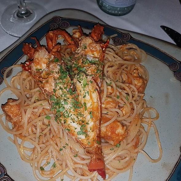 Spaghetti And Lobster @ Casa Mediterranea