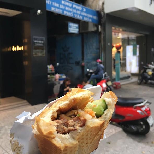 Banh Mi With Grilled Pork @ Banh Mi 37