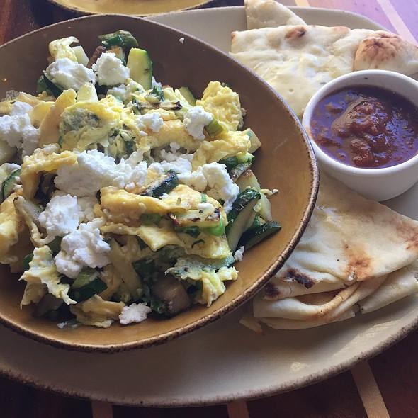 Veggie And Egg Scramble @ Schooners Coastal Kitchen & Bar