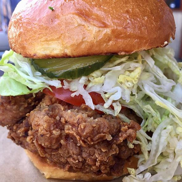 Fried Chicken Sandwich @ Haven Gastropub